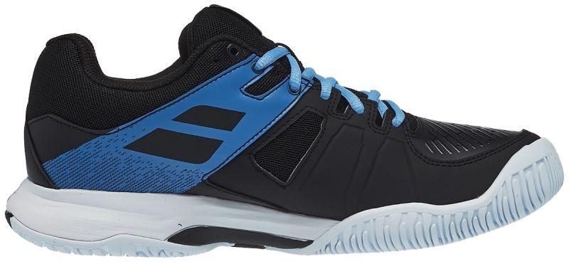 Теннисные кроссовки мужские Babolat Pulsion All Court black/parisian blue