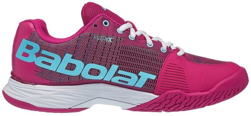 Теннисные кроссовки женские Babolat Jet Mach I purple/blue pastel