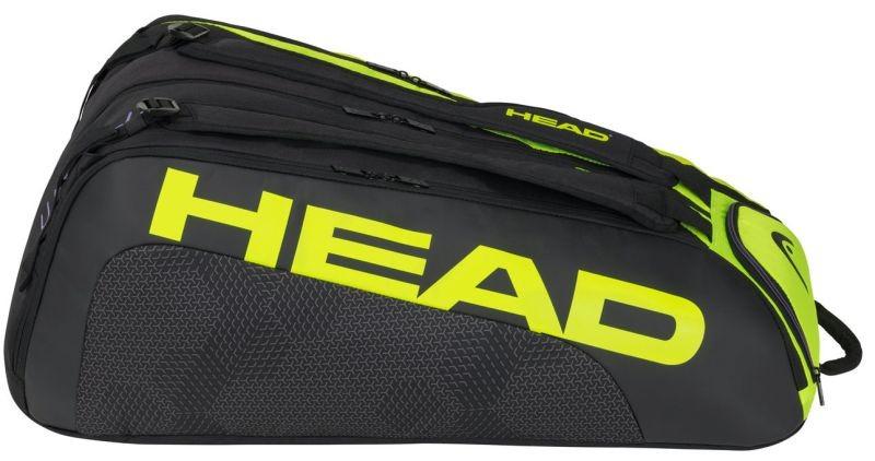 Теннисная сумка Head Tour Team Extreme 12R Monstercombi black/neon yellow