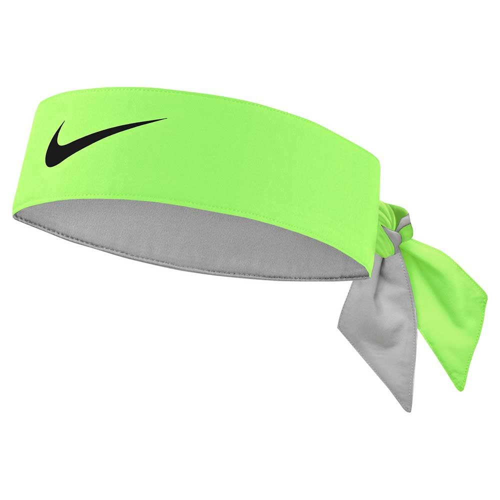 Бандана Nike Dry Tennis Headband green/black