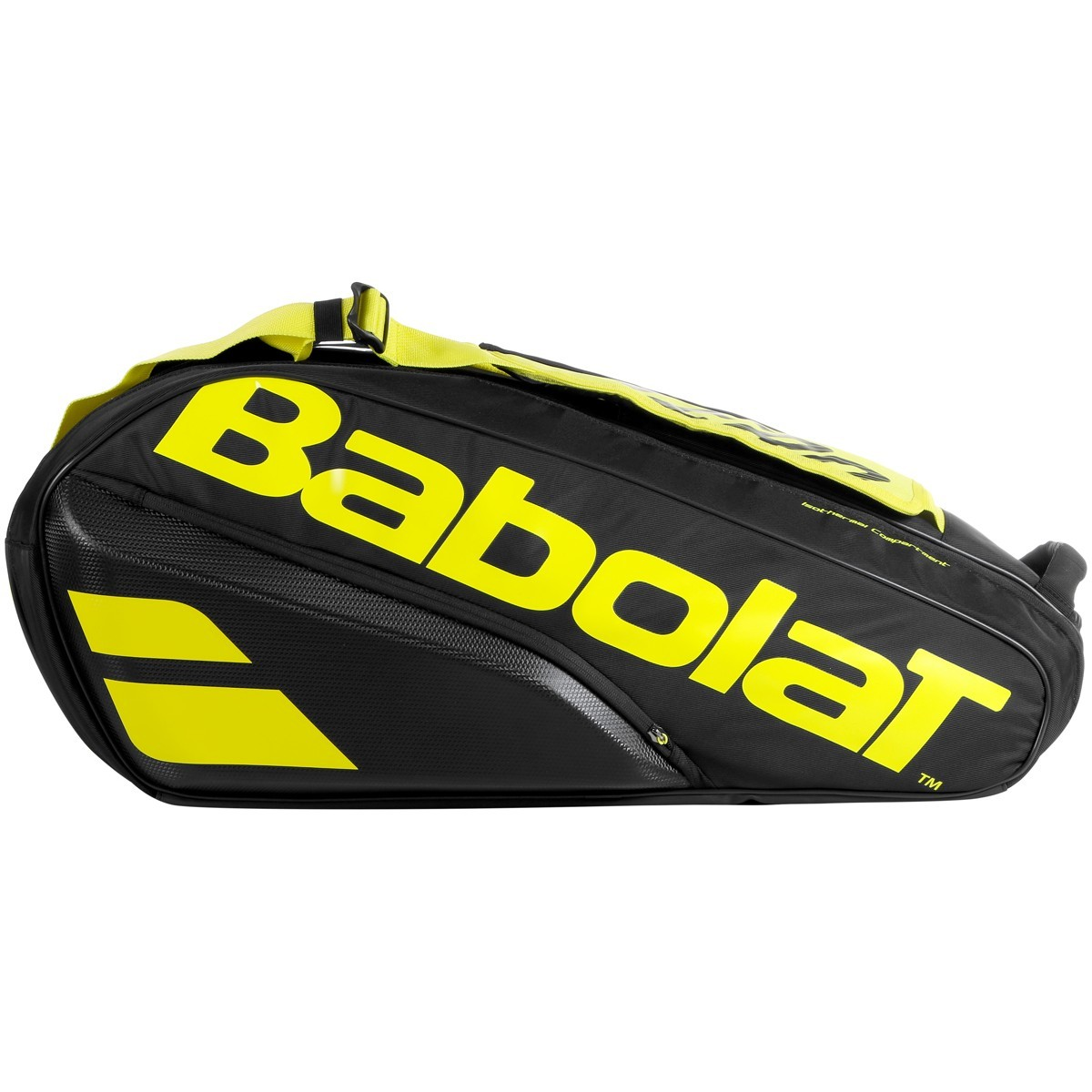 Теннисная сумка Babolat Pure Aero x6 2021 black/yelllow