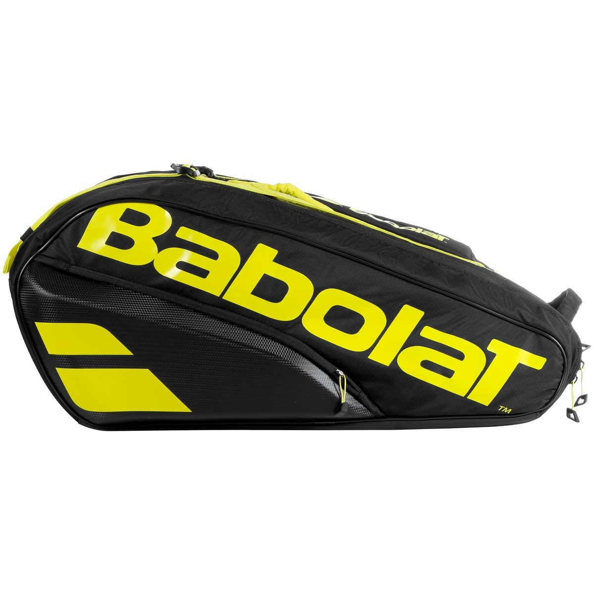 Теннисная сумка Babolat Pure Aero x12 2021 black/yelllow