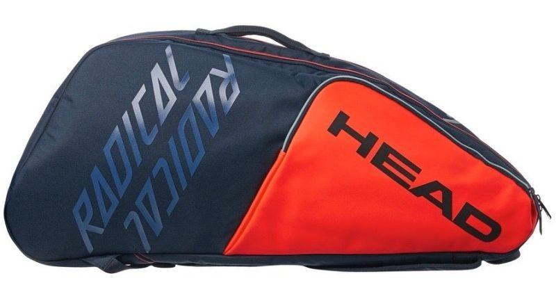 Теннисная сумка Head Radical 9R Supercombi orange/navy