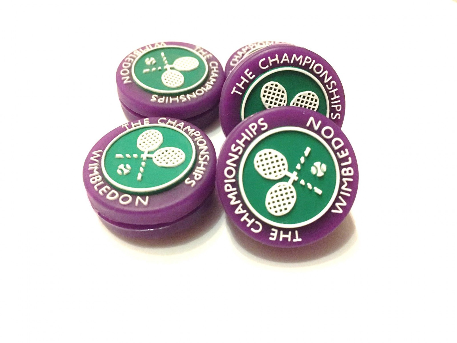Виброгаситель Wimbledon Dampener purple/green 1 шт.