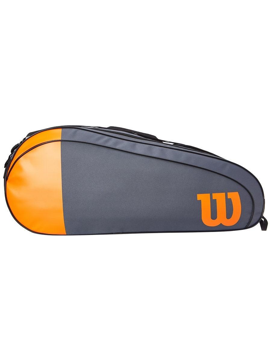 Теннисная сумка Wilson Burn Team 6 Pk Bag grey/orange