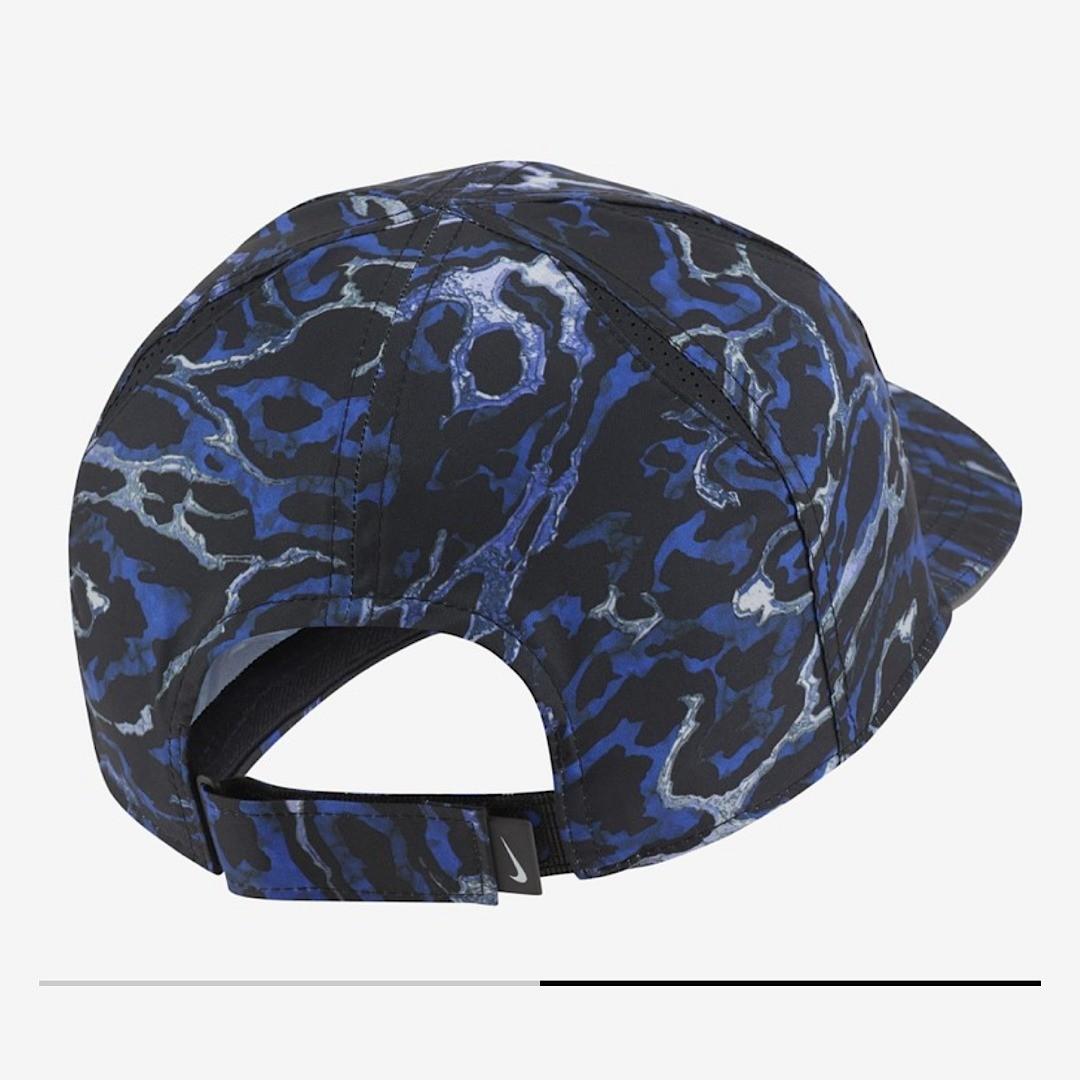 Теннисная кепка Nike Aerobill Featherlight Cap black/blue