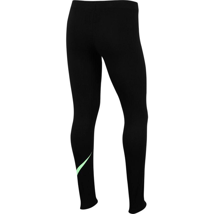 Легинсы детские Nike Favorites Swoosh Tight black/green