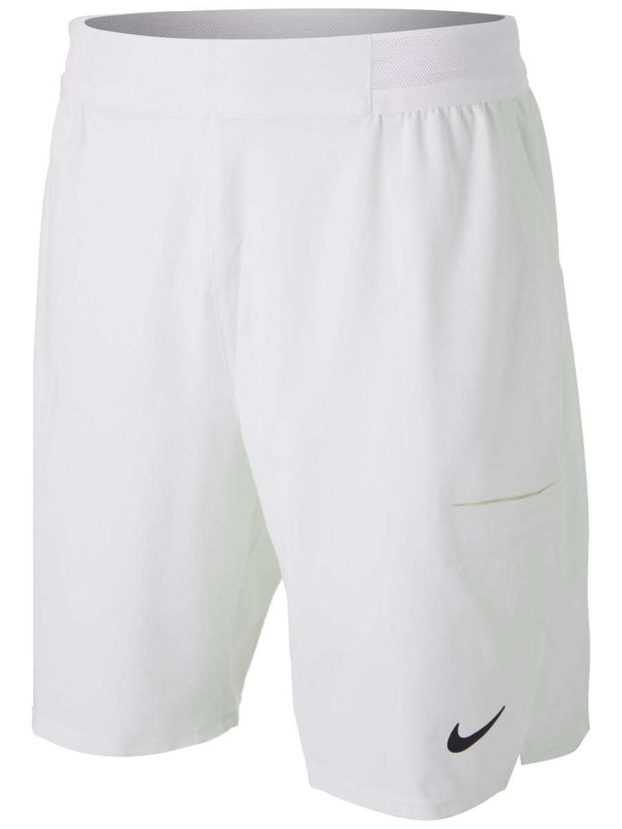 Теннисные шорты мужские Nike Court Advantage Short 9in white/black
