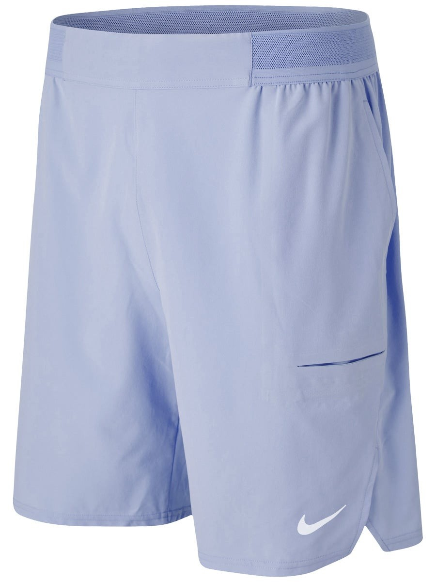 Теннисные шорты мужские Nike Court Advantage Short 9in indigo gaze/white