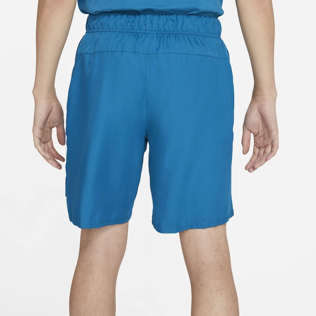 Теннисные шорты мужские Nike Court Flex Victory 9IN Short green abyss/white