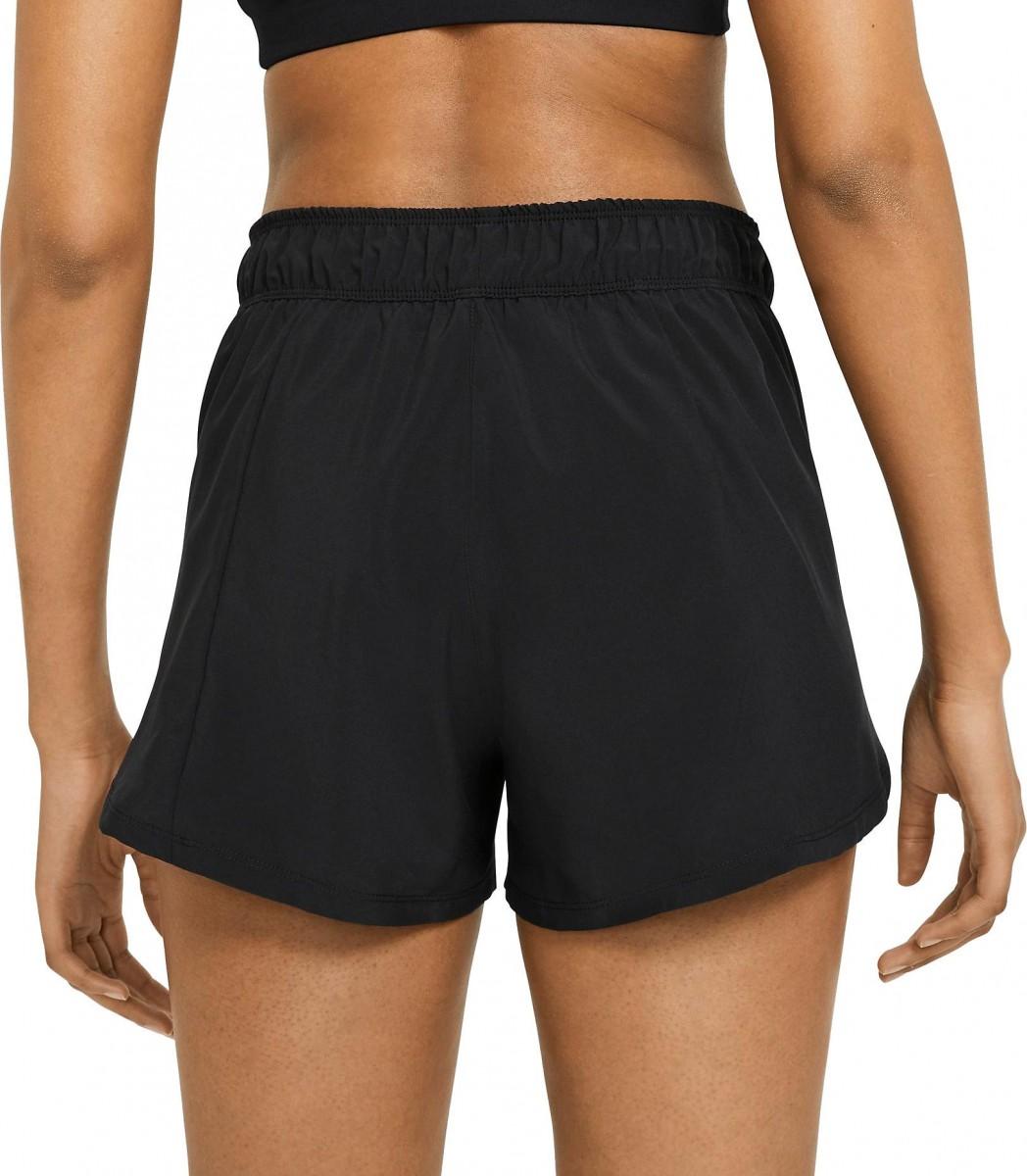 Теннисные шорты женские Nike Flex 2in1 Short black/vivid pink