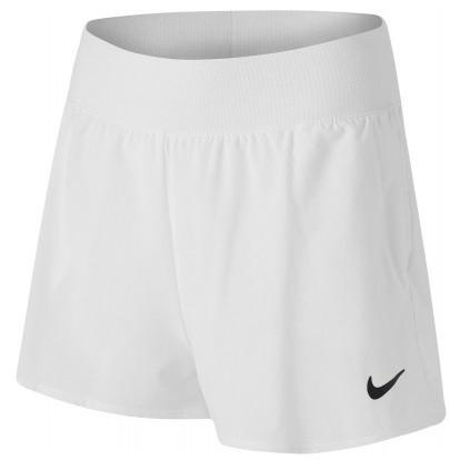 Теннисные шорты женские Nike Court Victory Short white/black