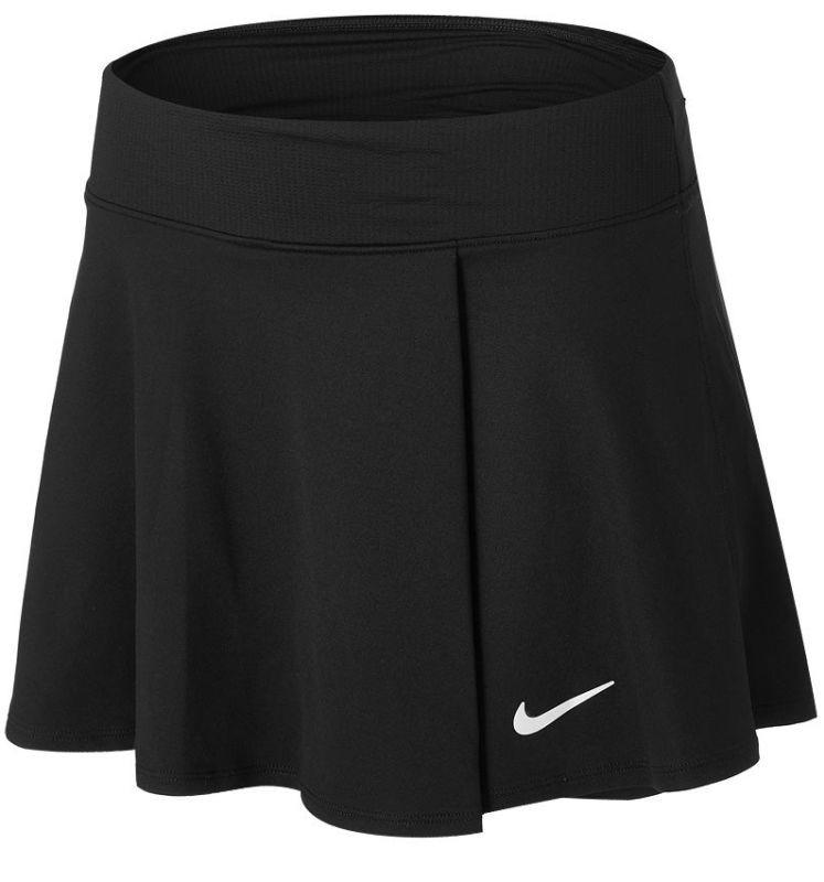 Теннисная юбка женская Nike Court Victory Flouncy Skirt black/white