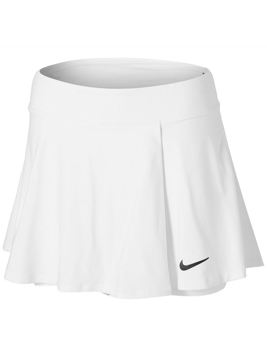 Теннисная юбка женская Nike Court Victory Flouncy Skirt white/black