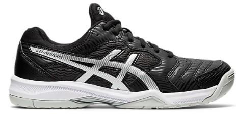 Теннисные кроссовки мужские Asics Gel-Dedicate 6 black/white