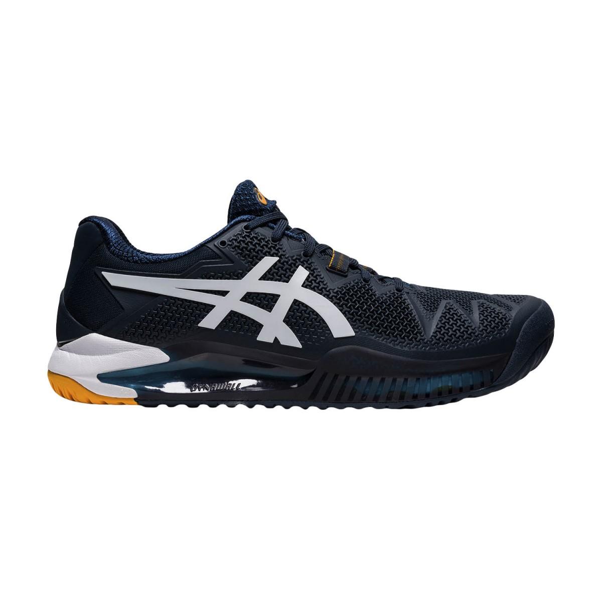 Теннисные кроссовки мужские Asics Gel-Resolution 8 french blue/white