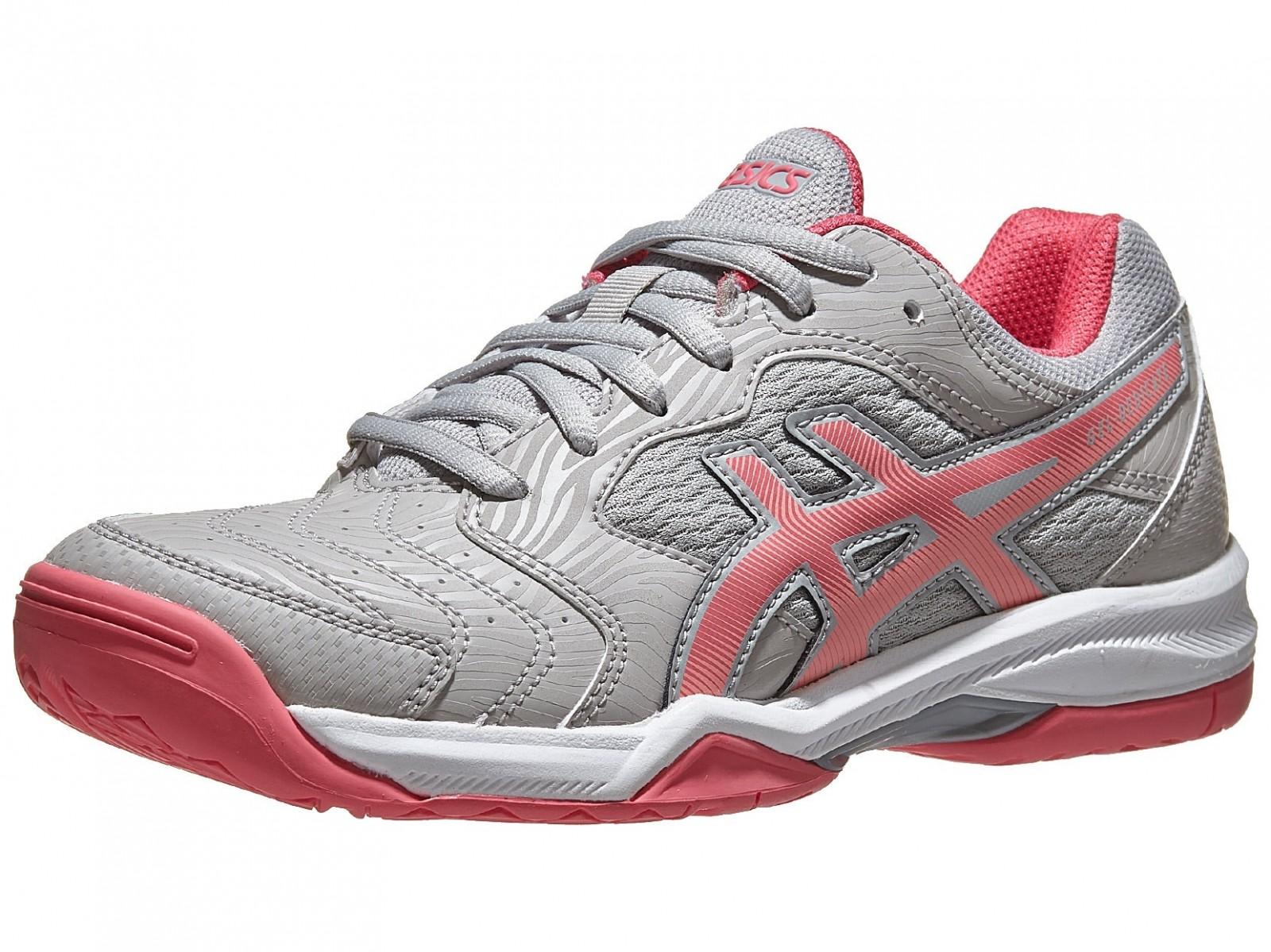 Теннисные кроссовки женские Asics Gel-Dedicate 6 grey/pink