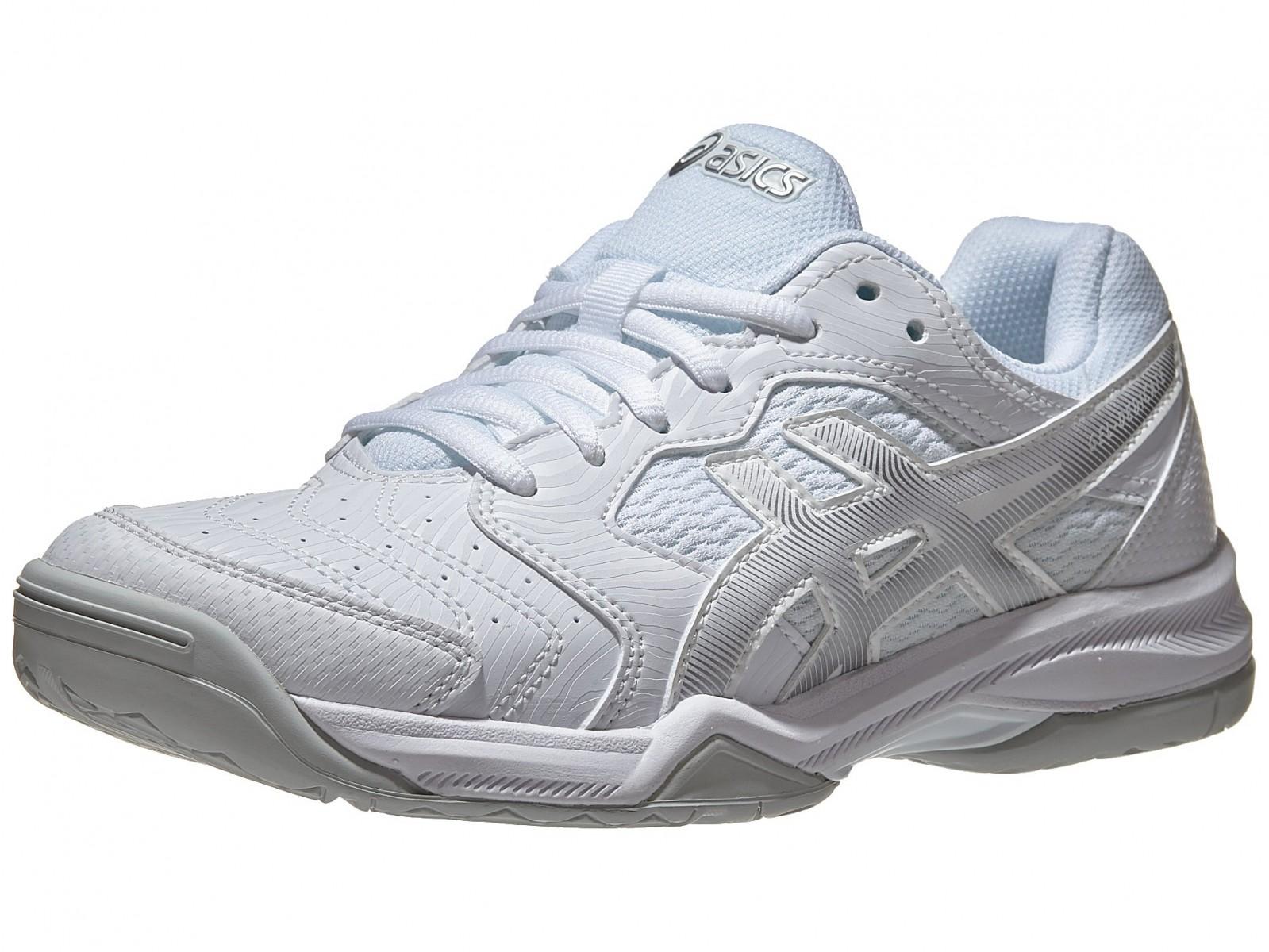 Теннисные кроссовки женские Asics Gel-Dedicate 6 white/silver