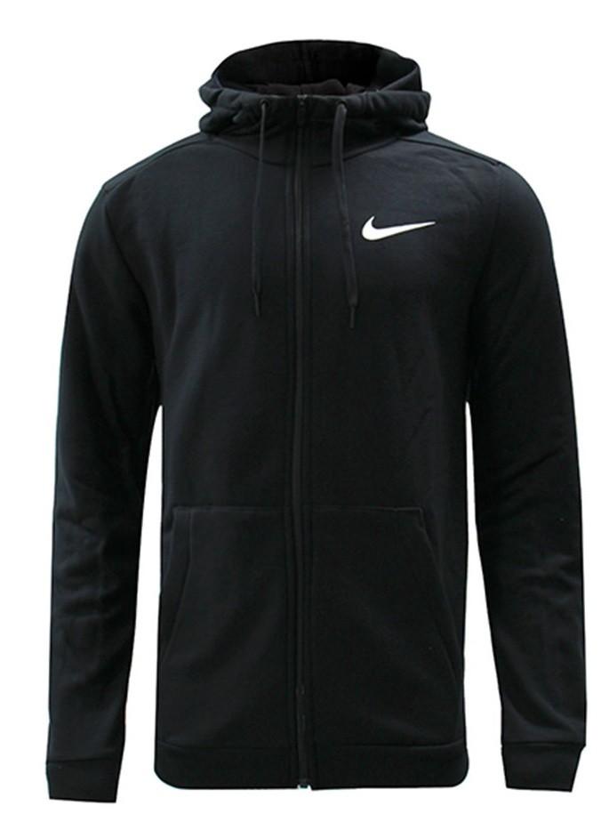 Реглан мужской Nike Dry Hoodie FZ Fleece black/white