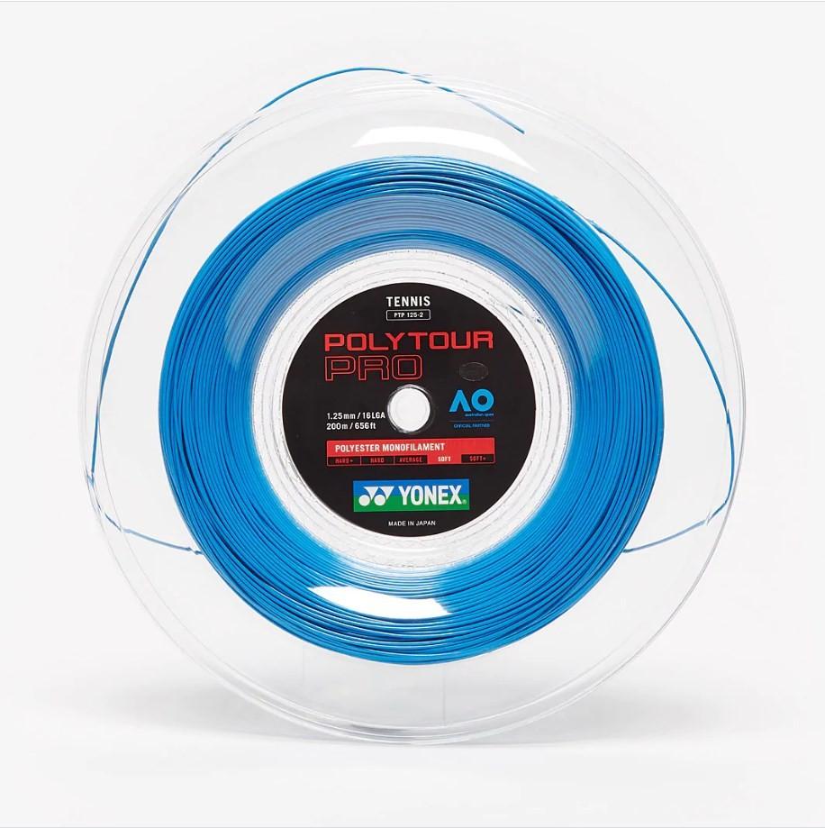 Струна Yonex Poly Tour Pro deep blue (200 m) бобина