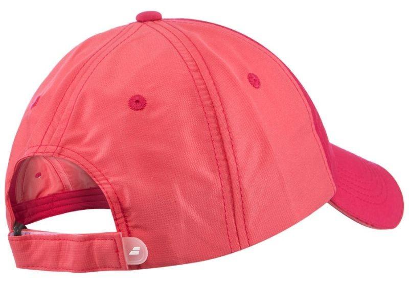 Кепка детская Babolat Basic Logo Cap Junior red rose