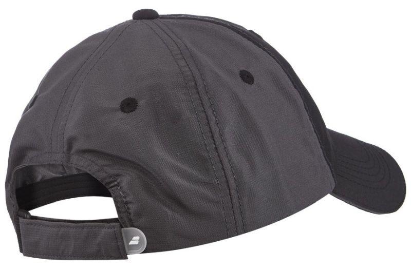 Теннисная кепка Babolat Basic Logo Cap black/black