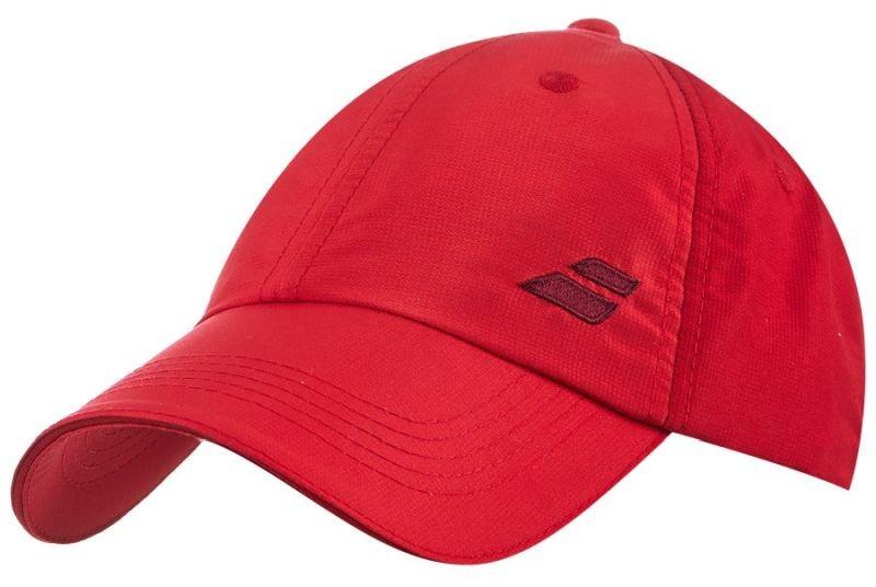 Теннисная кепка Babolat Basic Logo Cap tomato red