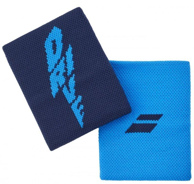 Напульсник Babolat Logo Jumbo Wristband drive blue