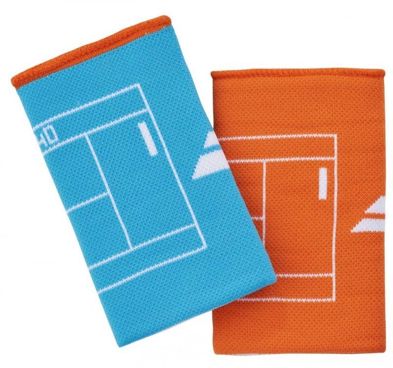 Напульсник Babolat Reversible Jumbo Wristband caneel bay/vibrant orange