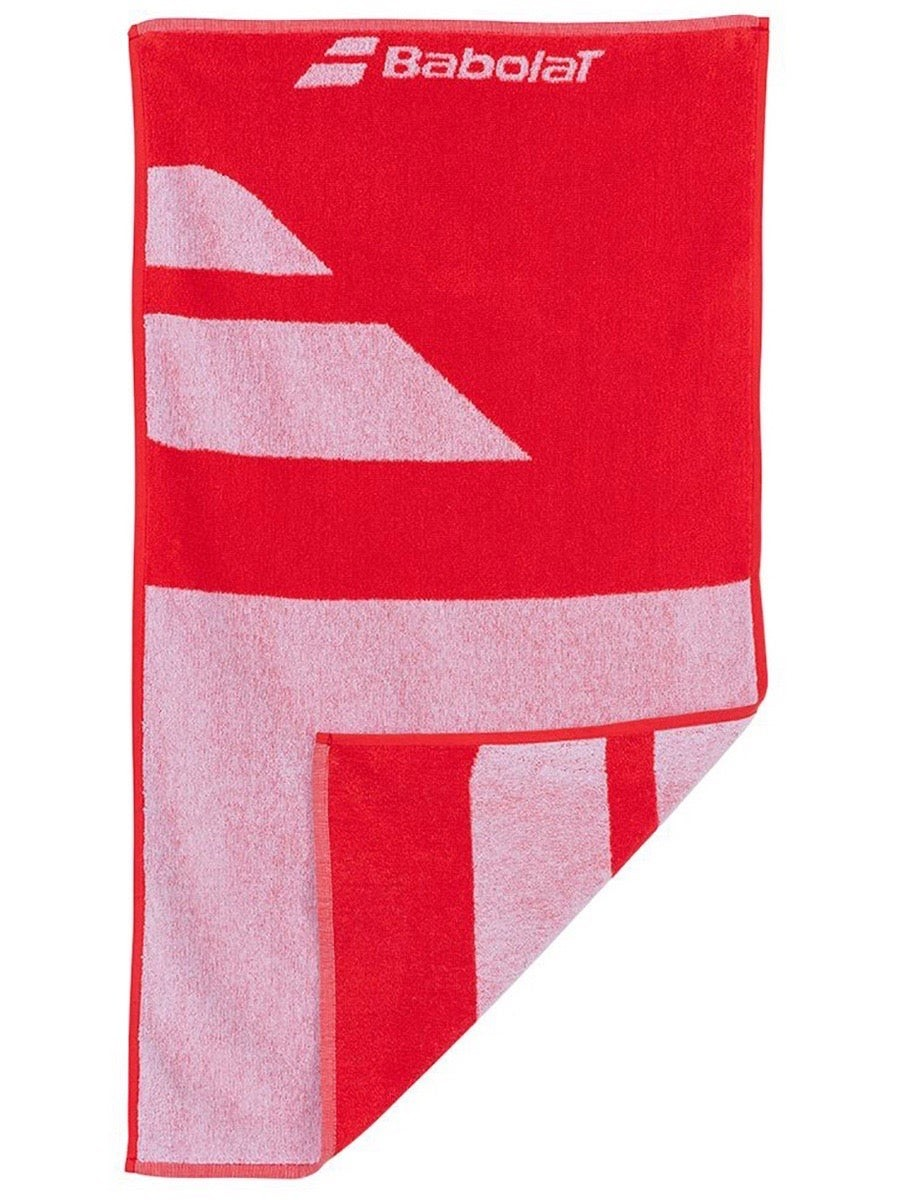Полотенце Babolat Medium Towel white/fiesta red