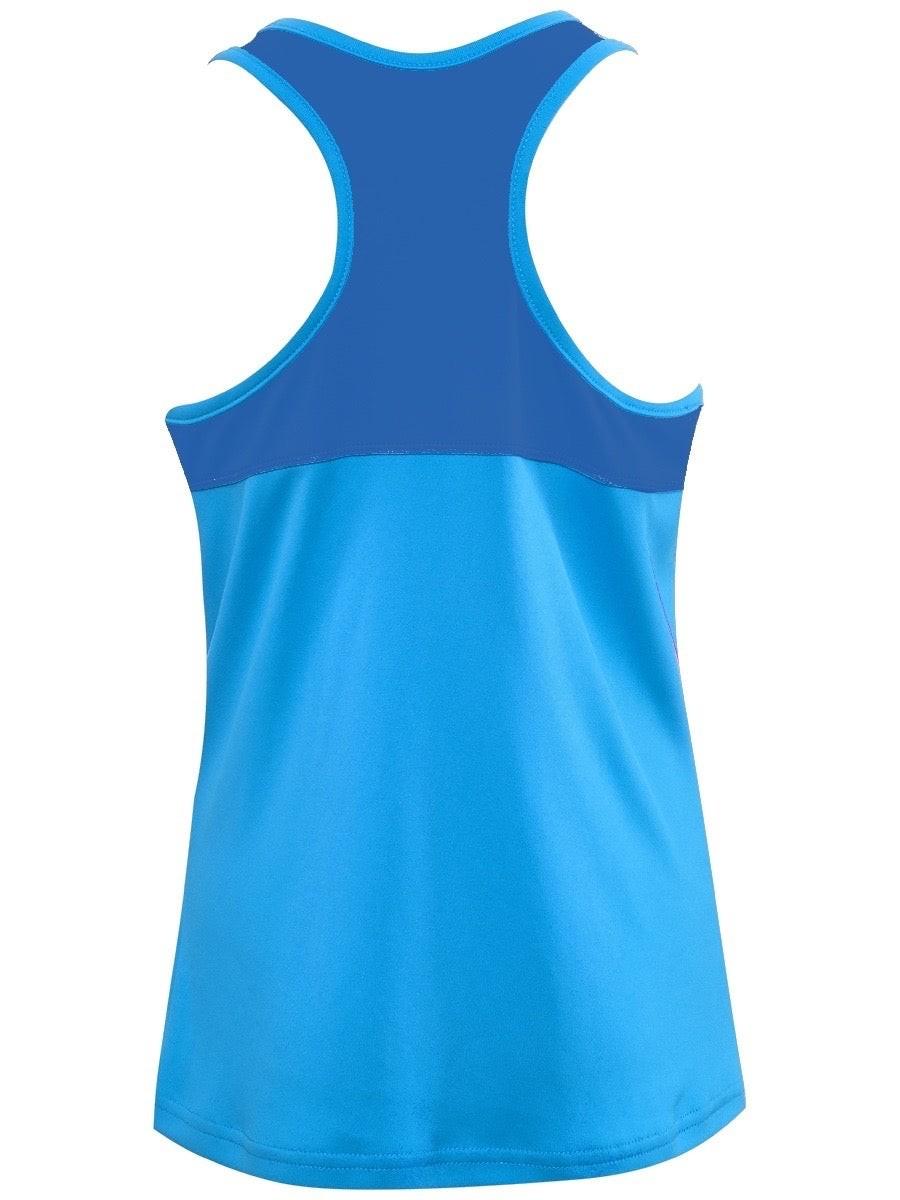 Теннисная майка детская Babolat Play Tank Top Girl blue aster