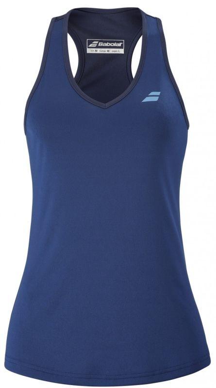 Теннисная майка женская Babolat Play Tank Top Women estate blue