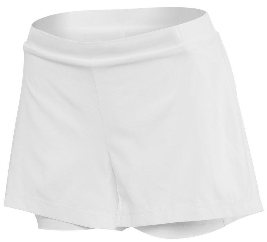 Теннисные шорты женские Babolat Exercise Short Women white/white