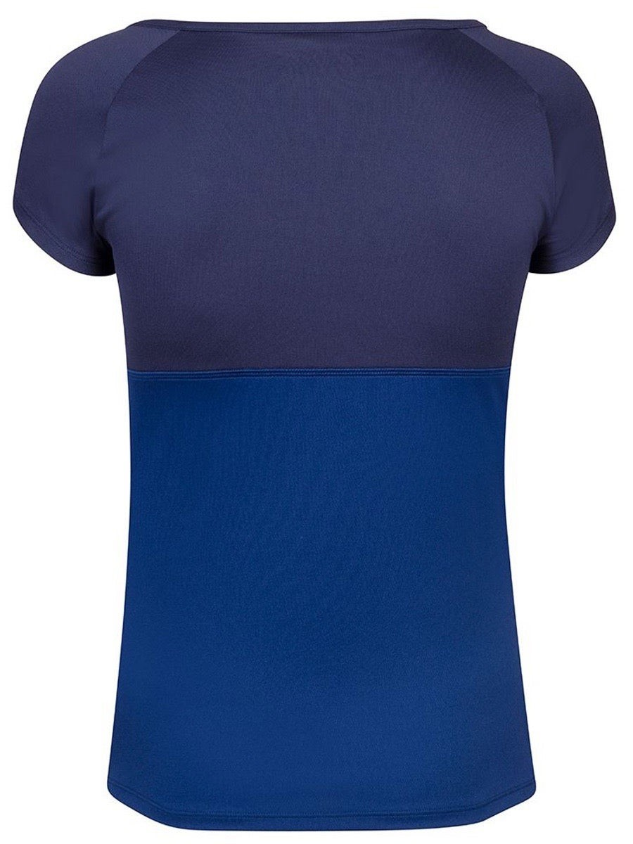 Теннисная футболка женская Babolat Play Cap Sleeve Top Women estate blue