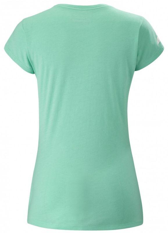Теннисная футболка женская Babolat Exercise Massange Tee cockatoo heather