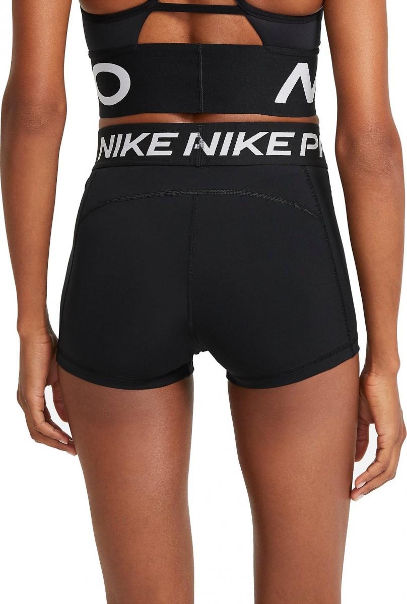 Теннисные шорты женские Nike Pro 365 Short 3in black/white