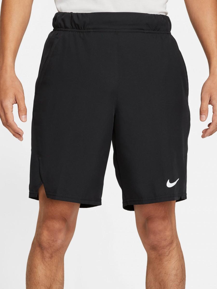 Теннисные шорты мужские Nike Court Flex Victory 9IN Short black/white