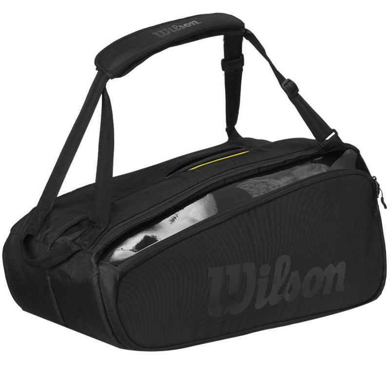 Теннисная сумка Wilson Super Tour 9 Pk Pro Staff Bag black
