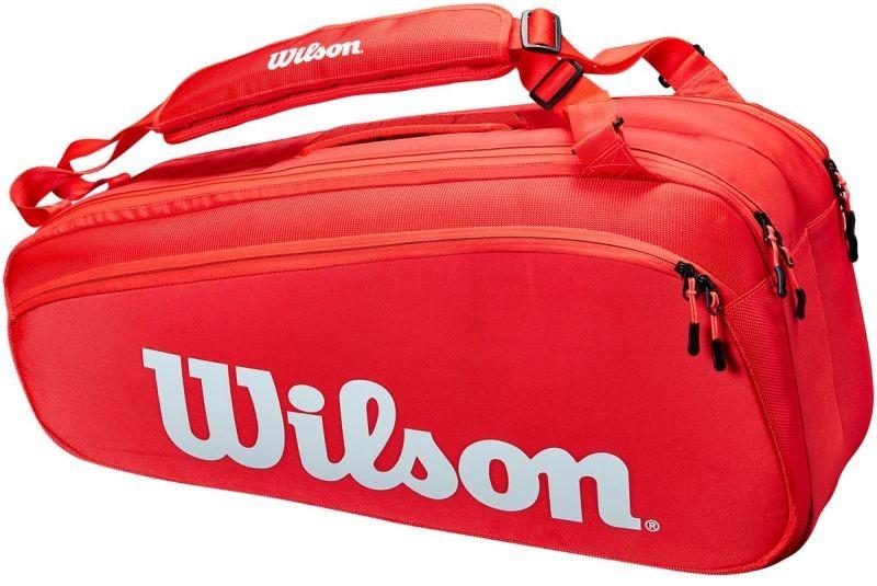 Теннисная сумка Wilson Tour 6 Pk red