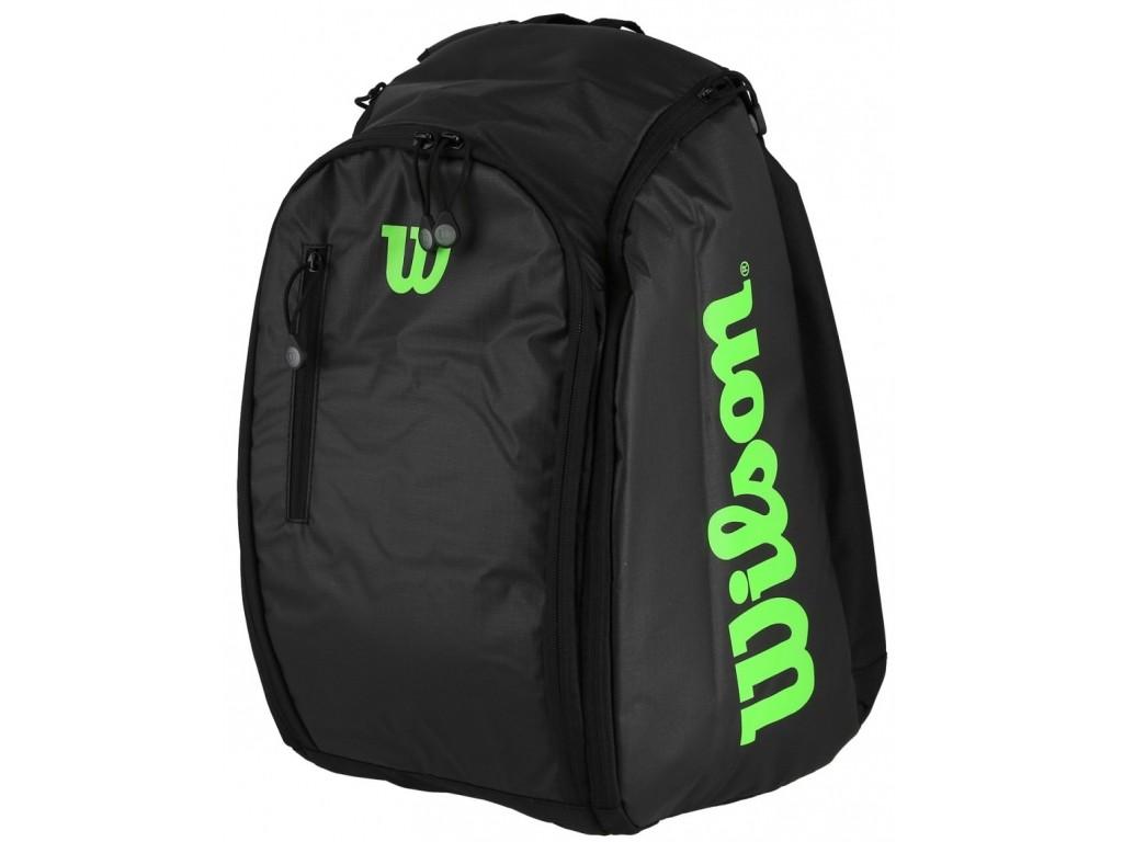 Теннисный рюкзак Wilson Tour Backpack black/green
