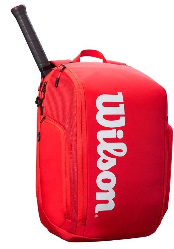 Теннисный рюкзак Wilson Super Tour Backpack red/white