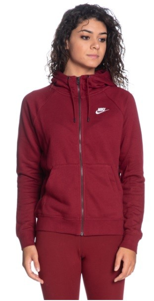 Костюм женский Nike Sportswear Essential bordeaux/white