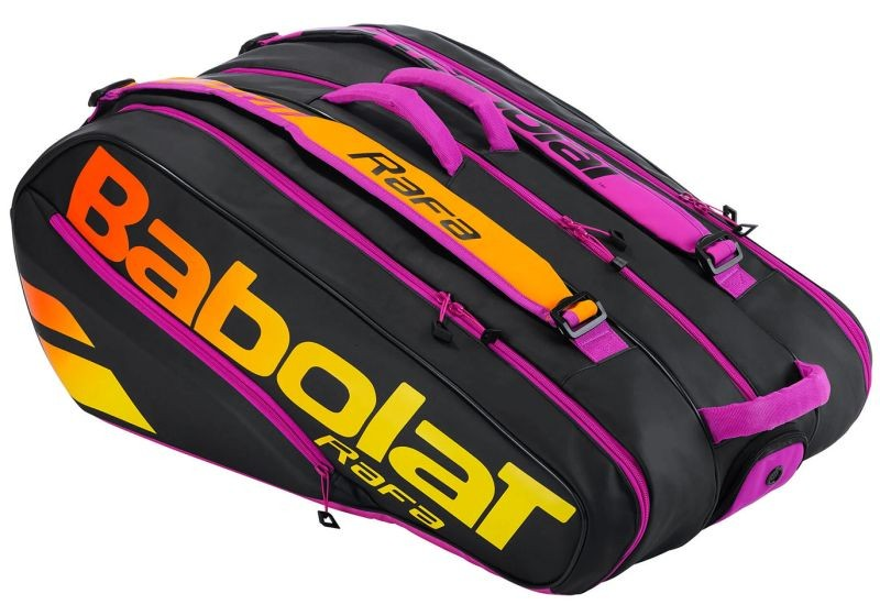 Теннисная сумка Babolat Pure Aero RAFA x12 black/orange/purple