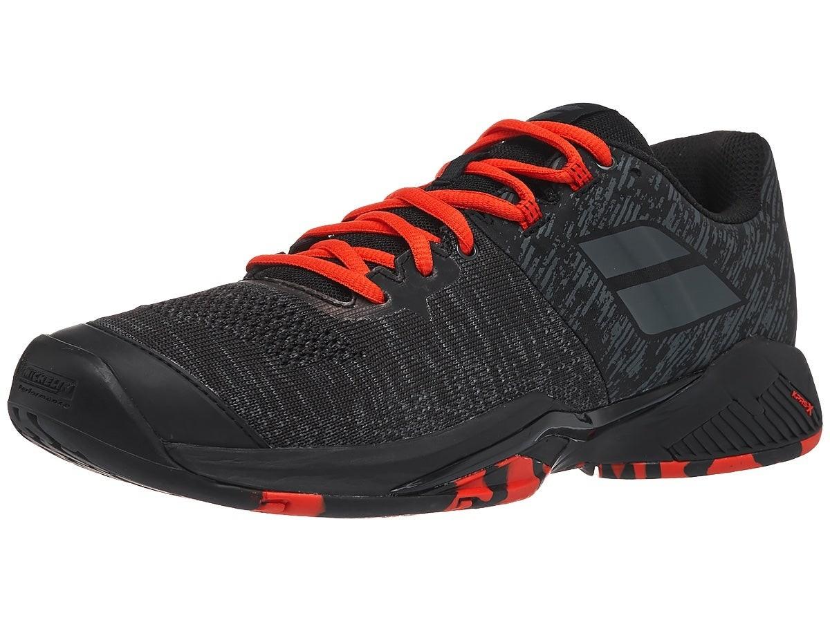 Теннисные кроссовки мужские Babolat Propulse Blast All Court black/tomato red