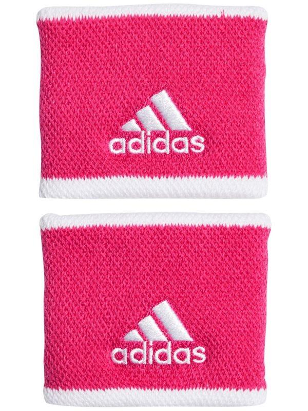 Напульсник Adidas Wristbands S (OSFM) power pink/white