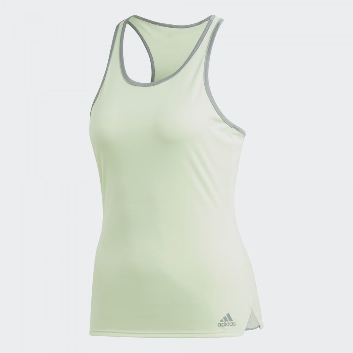 Теннисная майка женская Adidas Club Tank glow green