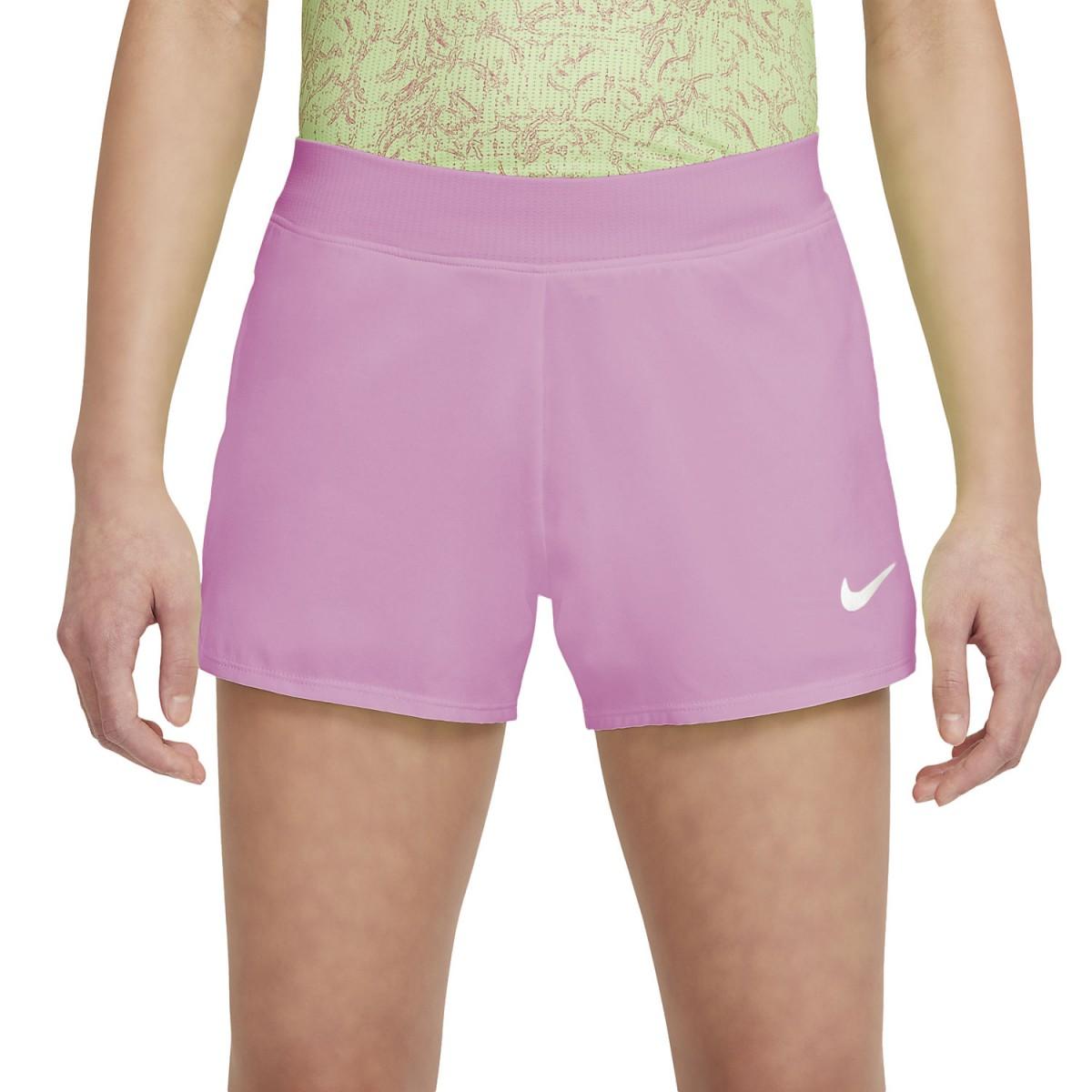 Теннисные шорты детские Nike Court Victory Short elemental pink/elemental pink/white