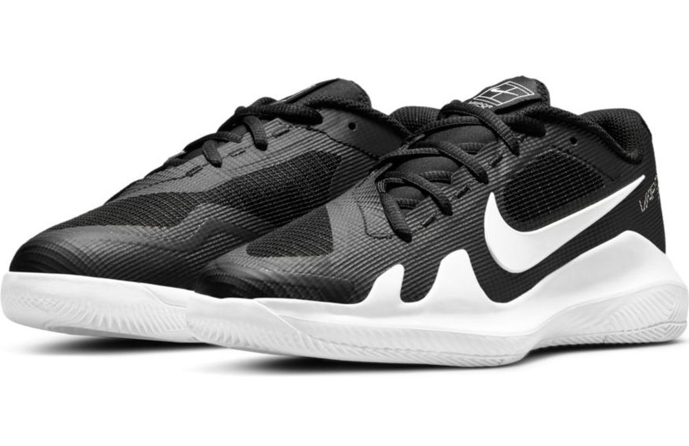Детские теннисные кроссовки Nike Vapor Pro Jr black/white