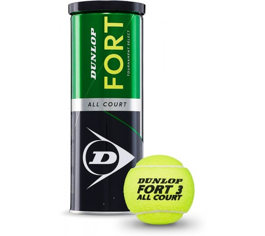 Dunlop Fort TS All Court 3-Ball