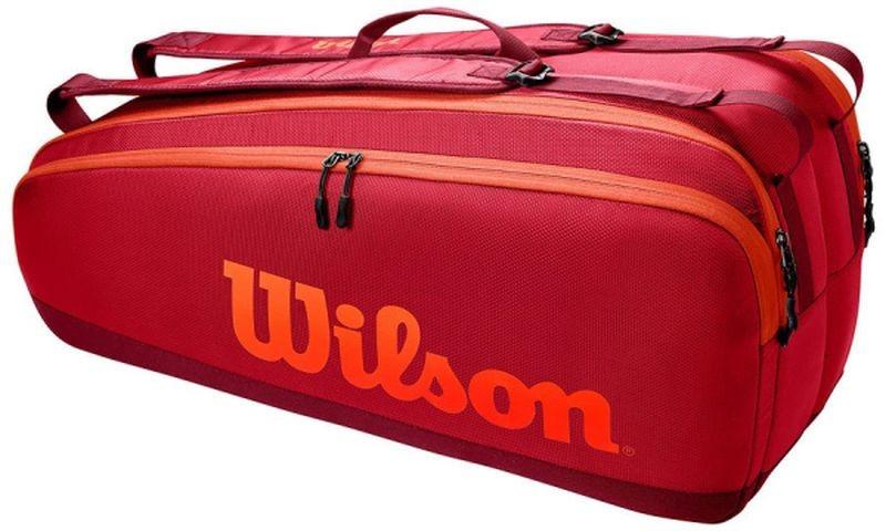Теннисная сумка Wilson Tour 6 Pk maroon